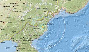 Trzęsienia ziemi w Korei Północnej