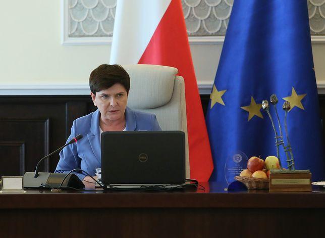 Premier Beata Szydło reaguje na sytuacje w Polsce