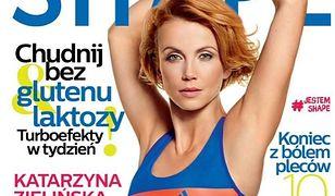 """""""Barwy szczęścia"""": Katarzyna Zielińska pochwaliła się zgrabnym ciałem na okładce magazynu!"""