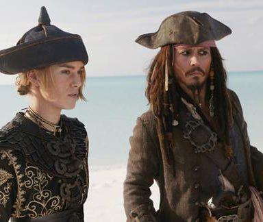 Keira Knightley i Johnny Depp