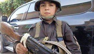 Wasil Ahmad - 10-latek z karabinem. Zginął w walce z talibami