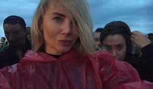 Czułości w strugach deszczu. Jak się bawiła Agnieszka Woźniak-Starak na Open'erze?