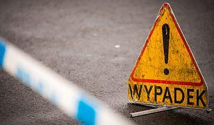 Wypadek w warmińsko-mazurskiem