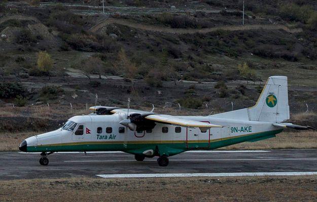 Samolot stracił łączność z wieżą kontroli lotów 18 minut po starcie
