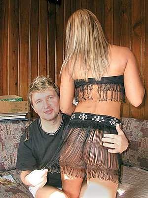 Mończyk i jego modelka