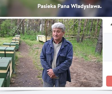 Pasieka pana Władysława została doszczętnie spalona. Internauci złożyli się, by pomóc mu ją odbudować.