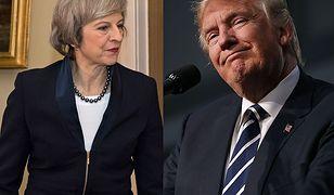 Theresa May krytykuje seksizm Trumpa, ale uważa, że więcej ich łączy, niż dzieli