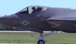 Najnowsze amerykańskie myśliwce F-35 gotowe do boju