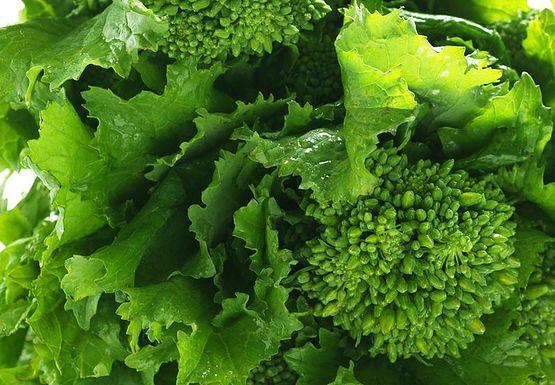 Jedzmy zielone warzywa liściaste