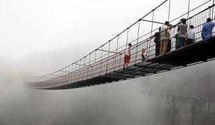 Chiny - najbardziej przerażający most na świecie