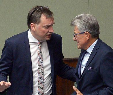 """""""Precz z komuną"""". Stanisław Piotrowicz atakowany w Sejmie"""