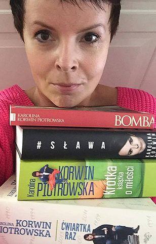 Karolina Korwin-Piotrowska pomaga ofiarom nawałnic