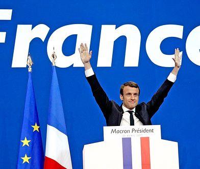 Emmanuel Macron to francuski polityk, bankowiec i urzędnik państwowy