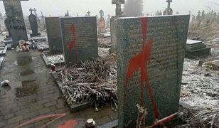 Ukraina. Kolejny akt wandalizmu na polskich pomnikach
