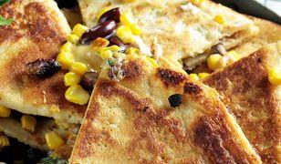 Naleśnikowa serowa quesadillas. Pyszności na obiad lub przekąskę