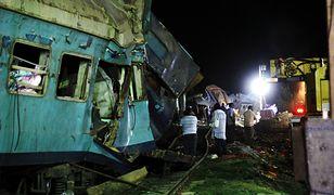 Katastrofa kolejowa w Egipcie