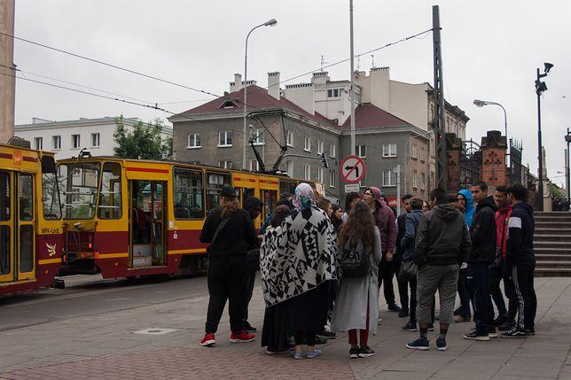 w centrum Łodzi
