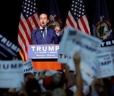 Doradca Trumpa Stephen Miller