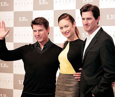 xxx attends the 'Oblivion' press conference at Ritz Carlton Tokyo on May 7, 2013 in Tokyo, Japan. The film will open on May 31 in Japan.