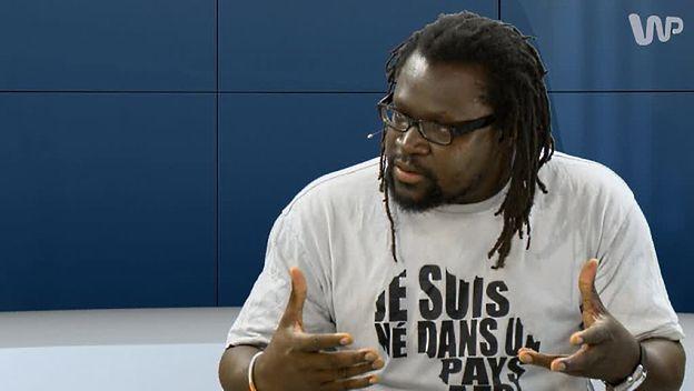 Mamadou Diouf w #dziejesienazywo: chrześcijaństwo jest z importu