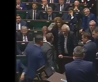 Tak wyglądała wymiana zdań między posłem PO a wicemarszałkiem z PiS