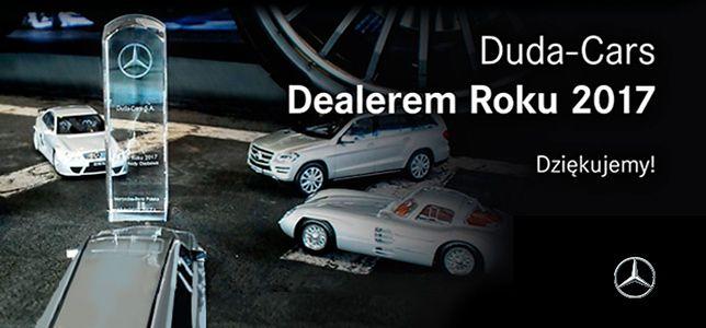 "Duda-Cars z tytułem ""Dealer Roku 2017"""