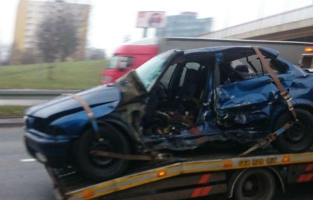 Wypadek na Armii Krajowej. Paraliż części Krakowa