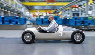 Historyczny model Audi z drukarki 3D
