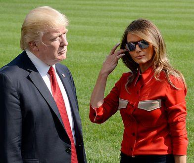 Donald Trump pojawił się na konferencji prasowej z sobowtórem Melanii? Zobaczcie te zdjęcia