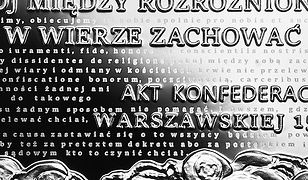 Rewers monety upamiętniającej reformację