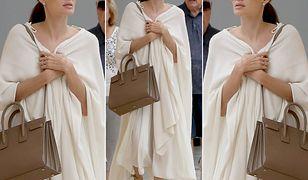 LOOK OF THE DAY: Angelina Jolie - miejski minimalizm