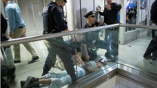 Masowa panika na dworcu w Nowym Jorku, 13 rannych