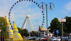 Gdynia - największe koło widokowe w Polsce