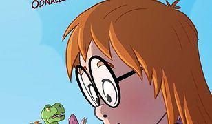 """Dinozaury z kosmosu. Recenzja komiksu """"Maja i Minizaury: Odnaleziony świat"""""""