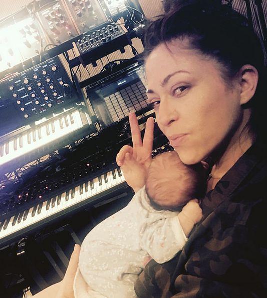 Natalia Kukulska pochwaliła się córeczką! Zabrała ją ze sobą do pracy
