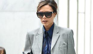 LOOK OF THE DAY: Victoria Beckham w męskim garniturze