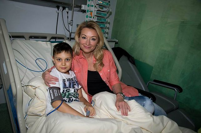 Martyna Wojciechowska walczy o zdrowie Michała