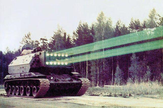 Laserowy czołg sowietów - broń, jakiej do dziś nie ma nikt na świecie
