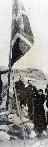 Caroline Mikkelsen - pierwsza kobieta na Antarktydzie