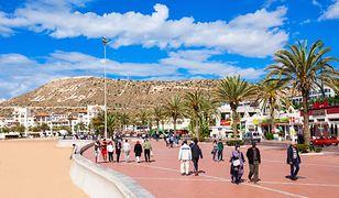 Agadir to 10 km piaszczystych plaż oraz średnio 300 słonecznych dni w roku