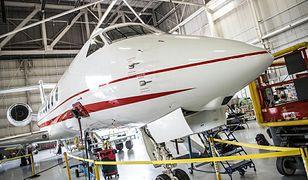Pierwszy samolot dla VIP-ów w Polsce już za tydzień