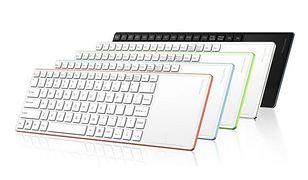 Bezprzewodowa klawiatura z wbudowanym touchpadem