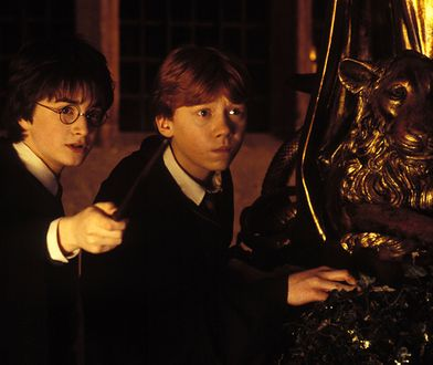 Sep 21, 2002; London,  UK; Images of 'Harry Potter and the Chamber of Secrets', directed by Chris Columbus and starring DANIEL RADCLIFFE as Harry Potter and RUPERT GRINT as Ron Weasley. Mandatory Credit: Photo by Warner Brothers Pictures/ZUMA Press. (�) Copyright 2002 by Warner Brothers Pictures