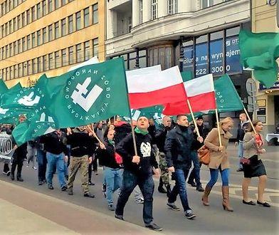 Marsz ONR-u w Poznaniu z okazji 81-lecia organizacji