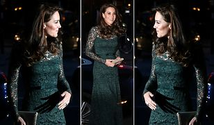 LOOK OF THE DAY: Kate Middleton w sukni Temperley London