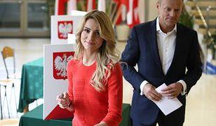 Kasia Tusk z rodziną na wyborach!