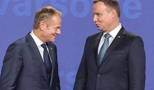 Sondaż: Donald Tusk wygrywa z Andrzejem Dudą