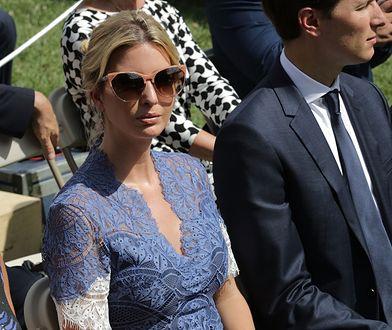 Ivanka Trump w koronkowej kreacji, która zachwyciła świat mody