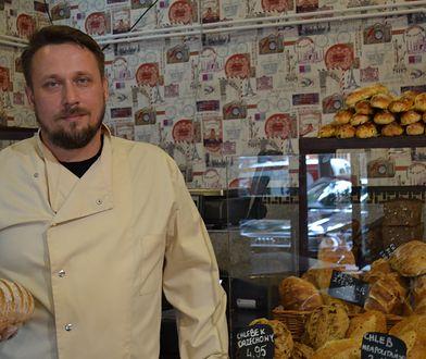 Marcin Orlikowski, właściciel piekarni Orzeł w Lublinie