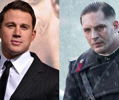 Channing Tatum (po lewej) i Tom Hardy (po prawej)